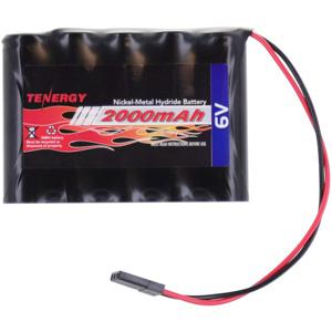 Tenergy NiMH Receiver RX 2000mAh